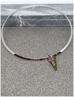 Collier Spike Crystal